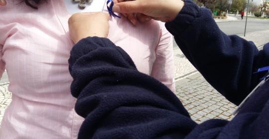 5 ª Campanha do Laço Azul (Blue Ribbon) de 1 a 30 de abril