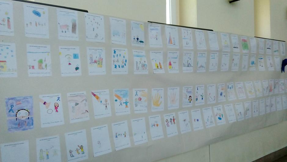 Trabalhos dos alunos- desenho